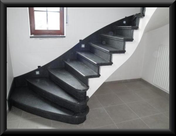 Trap trappen trapbekleding composiet graniet natuursteen aalst erembodegem - Binnen trap ...